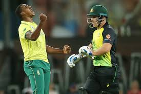 South Africa beat Australia in truncated T20