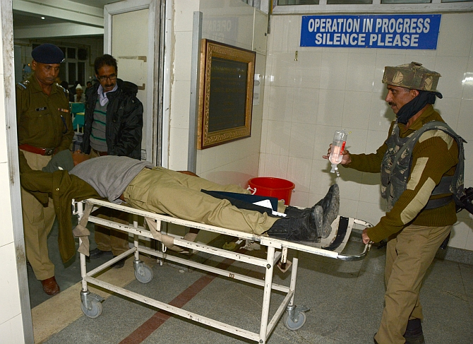 CRPF personnel kills self after shooting two colleagues at Pantha Chowk